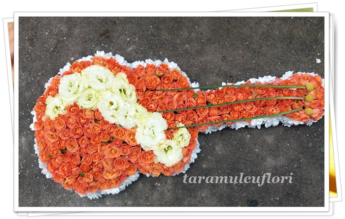 Chitara din flori.3646