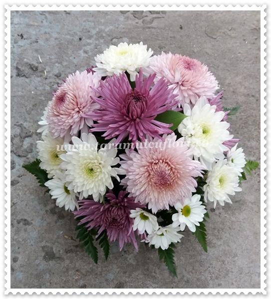 Aranjamente florale mese-cizanteme.1105