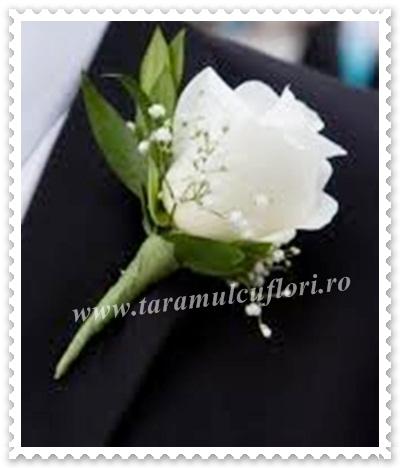 Cocarde nunta din trandafiri.211