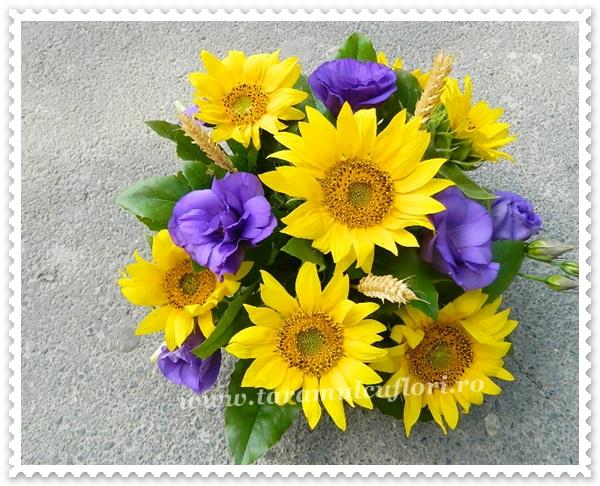 Aranjamente Florale Din Floarea Soarelui