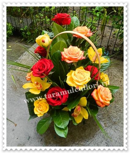 Cosuri cu flori-trandafiri si orhidee.6403
