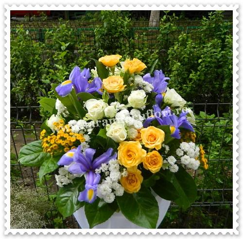 Aranjamente florale mese-stalpi.6417