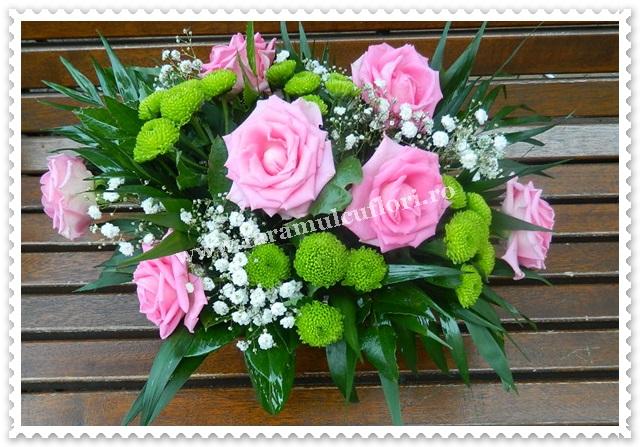 Aranjamente florale-trandafiri.7124