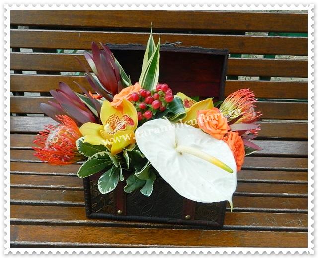 Cufar cu flori 7150