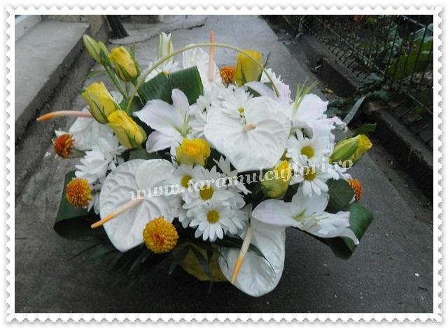 Aranjamente florale.Cosuri cu flori.9379