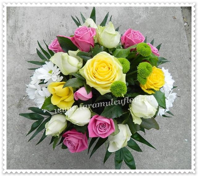 Buchete din trandafiri.9400