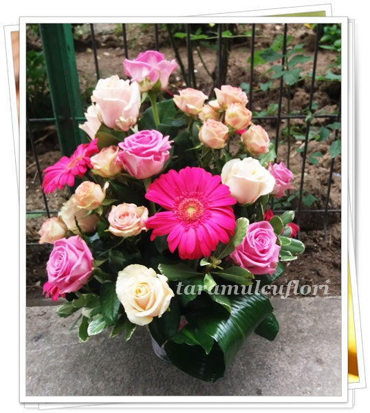 Cosuri cu flori.Aranjamente florale.0356