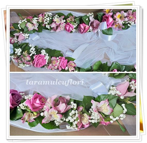 Ghirlanda flori cristelnita.5230