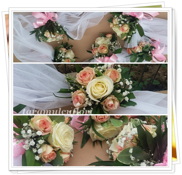 Aranjamente cristelnita din trandafiri si miniroze.2755