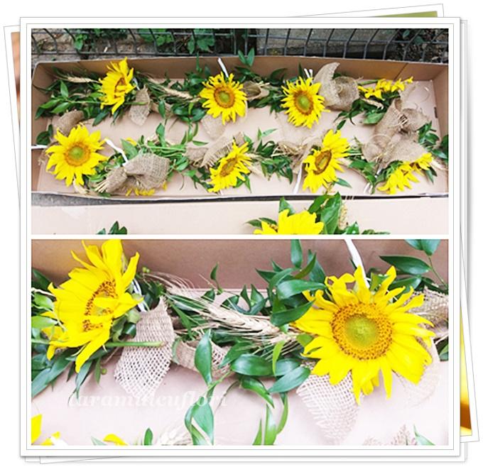 Aranjamente cristelnita din floarea soarelui.3219